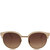 Linda Farrow Light Pink Round Acetate Sunglasses | Women's Sunglasses by Linda Farrow | Liberty.co.uk