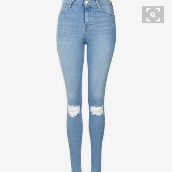 jeans ripped jeans pants long denim jeans skinny jeans
