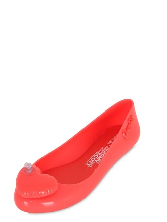 heart coral shoes