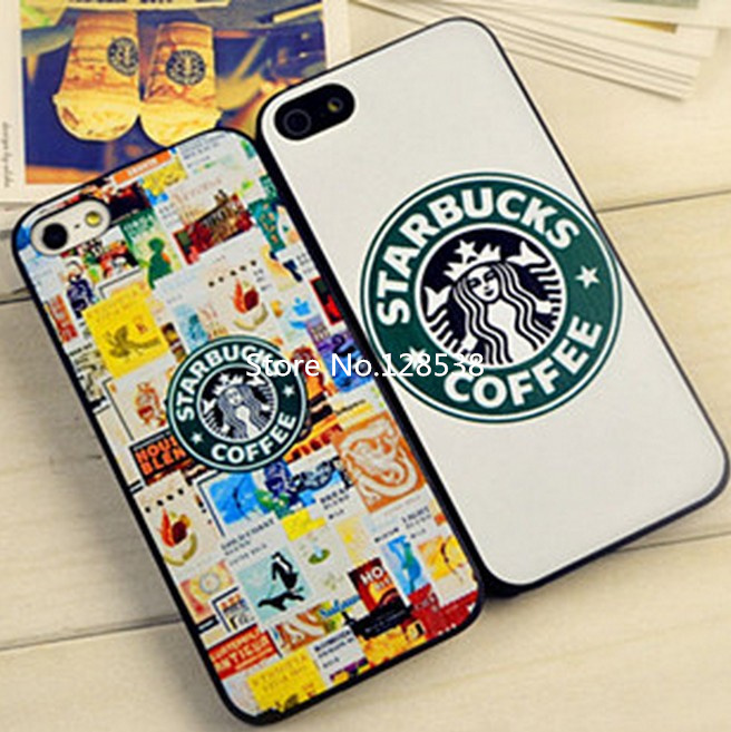 pretty nice 2b331 5a72c 1 piece free shipping Starbucks Star wars coffee design phone case for  iphone 5 case for iphone 5s case phone Case-in Phone Bags & Cases from  Phones & ...