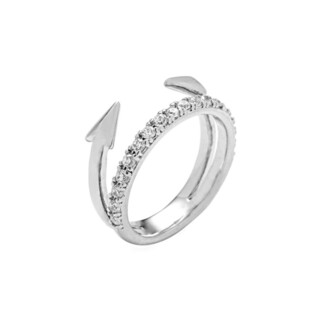 jewels arrow ring silver bikiniluxe tai