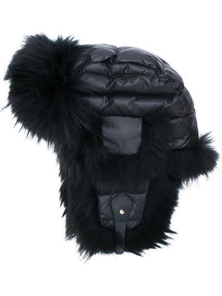 Liska fur fox women hat black