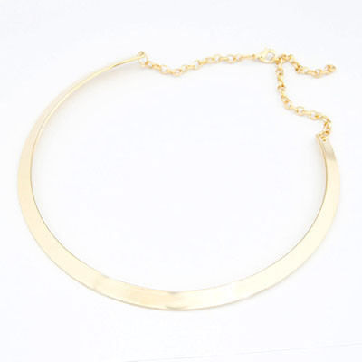 Seven 14 - Silver thin Collar Necklace (gold option)