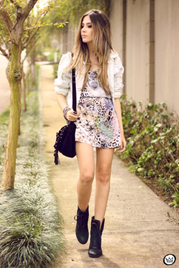 fashion coolture blogger jacket bag