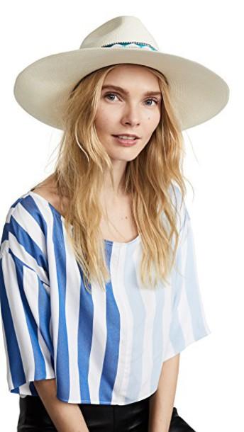 Jaunt hat blue cream