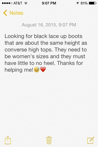 ankle boots black boots combat boots style me black shoes little black boots black booties booties lace-up shoes