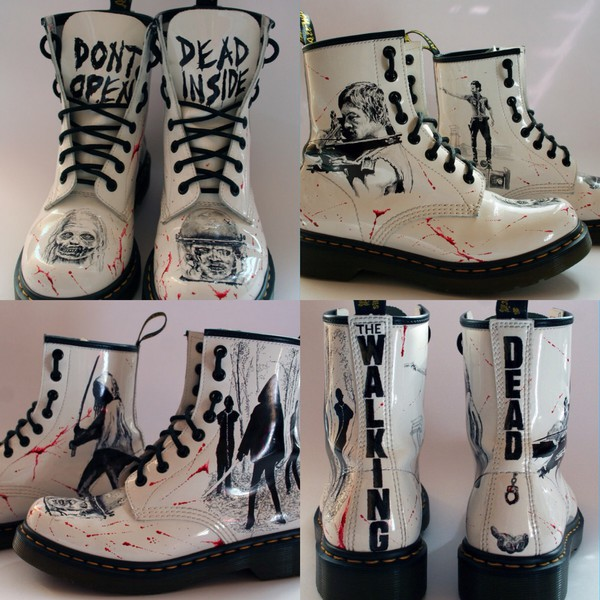 Daryl Walking Dead Shoes