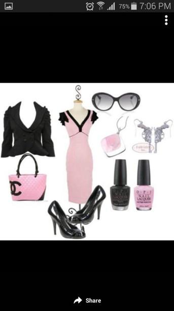 dress coat purse shoes accessories nail polish