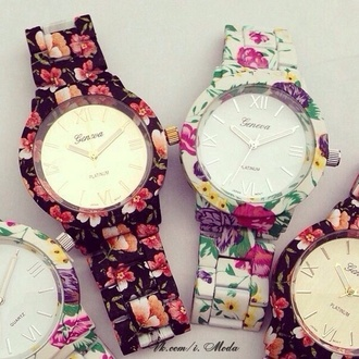 jewels watch flowers filiere geneva floral watch floral pretty