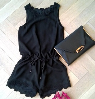 jumpsuit black heels black summer black lace black dress style lace dress black lace dress summer outfits dress nike shoes