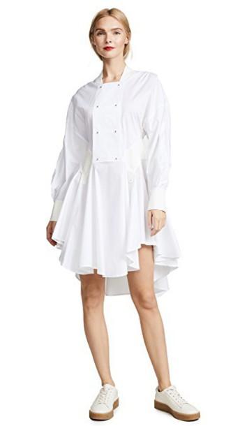 Esteban Cortazar dress white