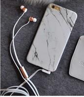 earphones,copper,rose gold
