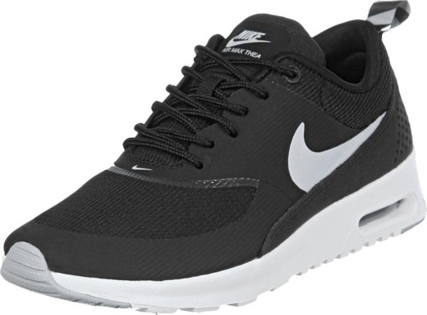 shoes nike air max air max nike air max thea noir black shoes