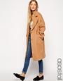 Asos tall cocoon coat at asos.com