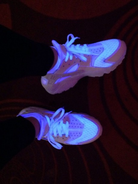 Shoes Nike Nike Shoes Huarache Glow In The Dark