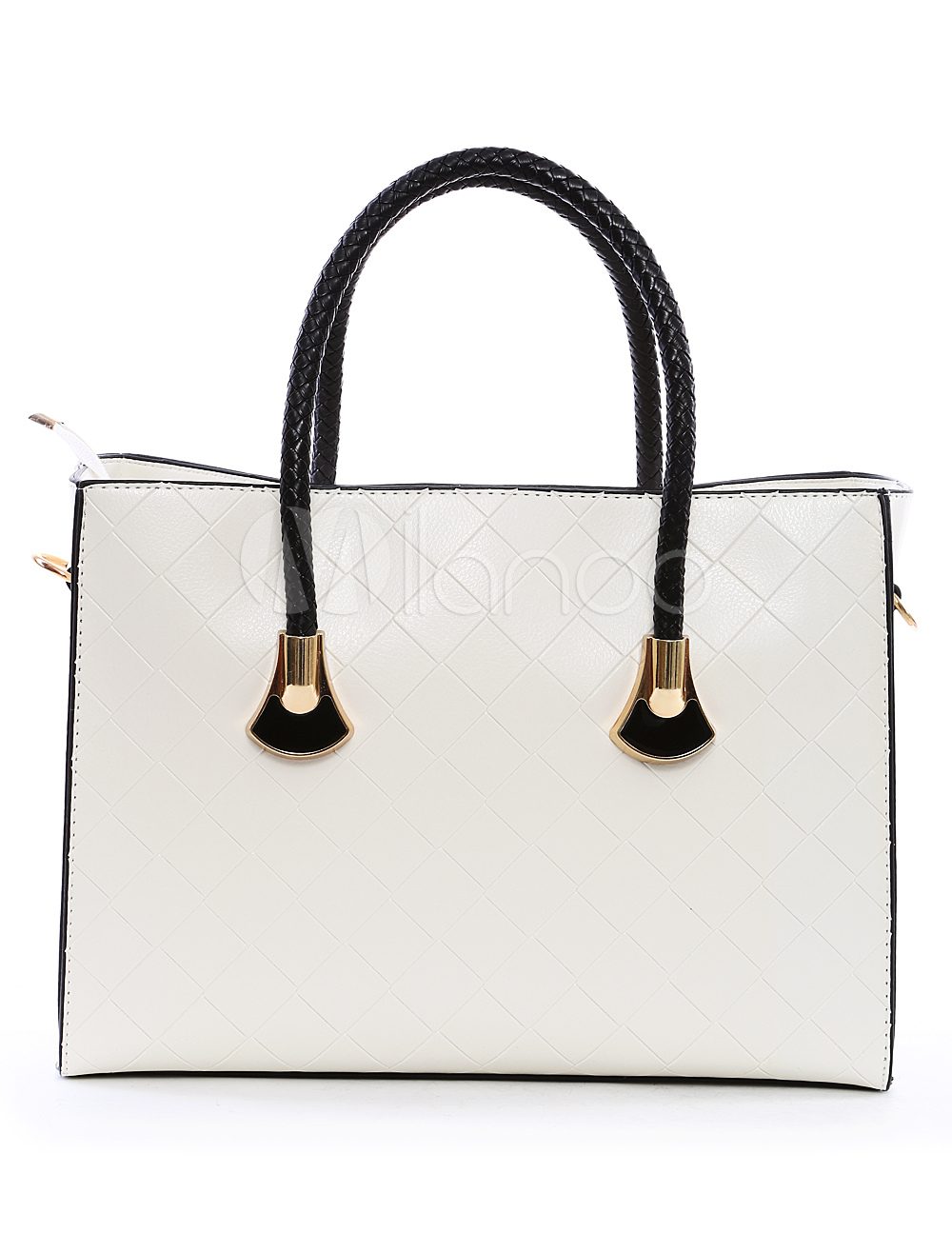 PU Leather Elegant Women's Tote Bag