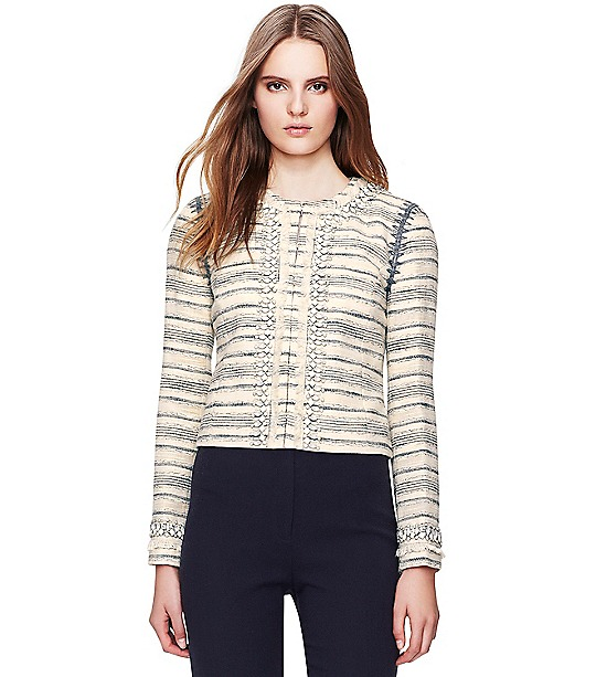Nicole Jacket  : Women's Jackets & Outerwear | ToryBurch.co.uk