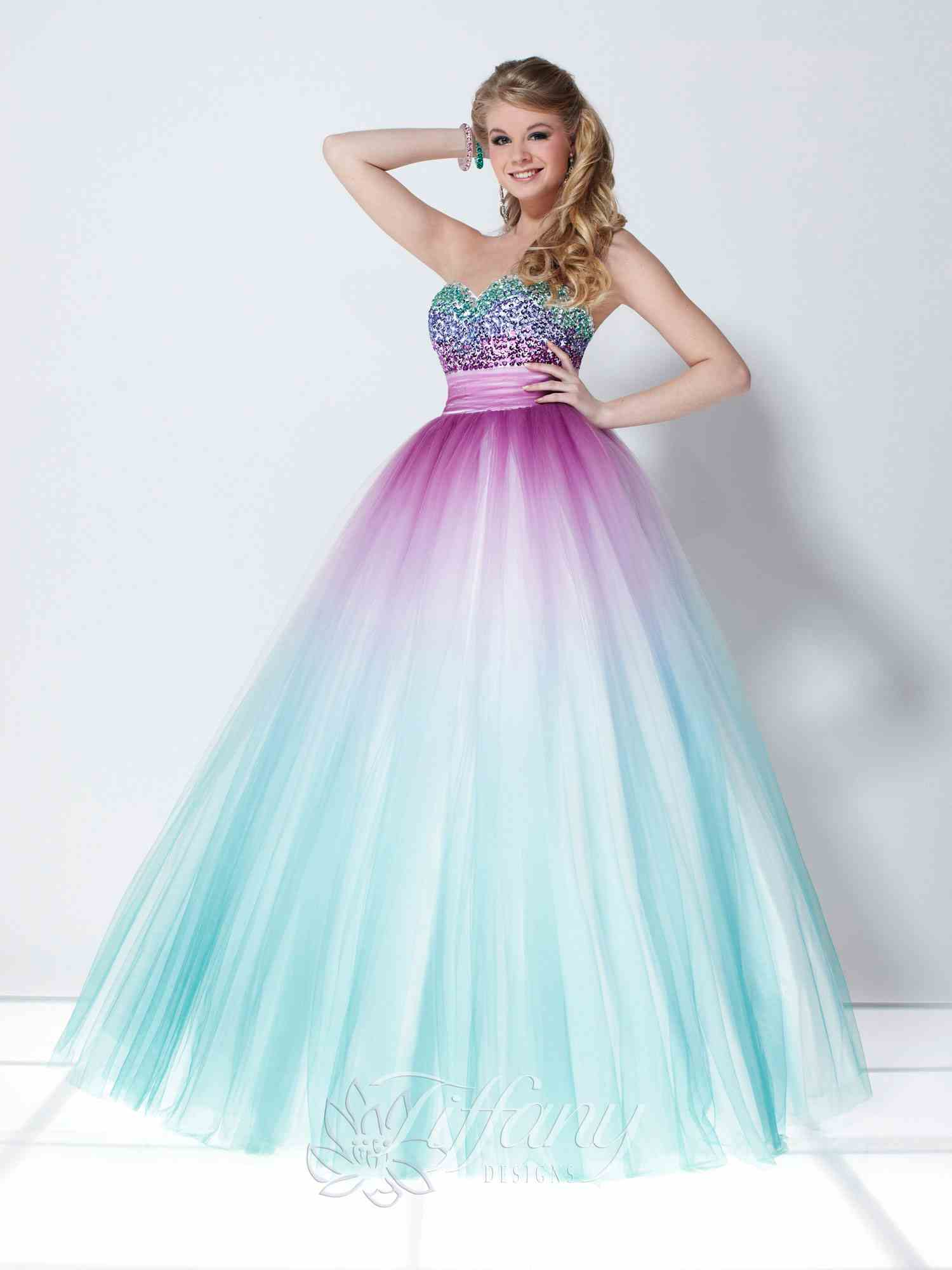 Tiffany Prom Dress 16897 at Prom Dress Shop