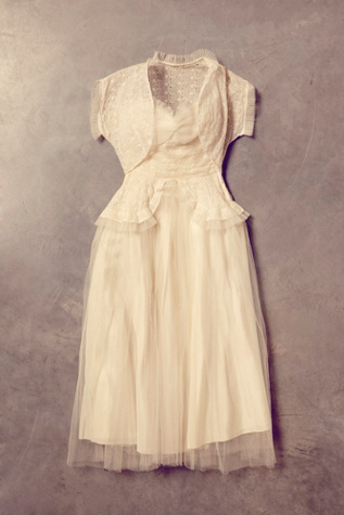 free people womens vintage princess gown