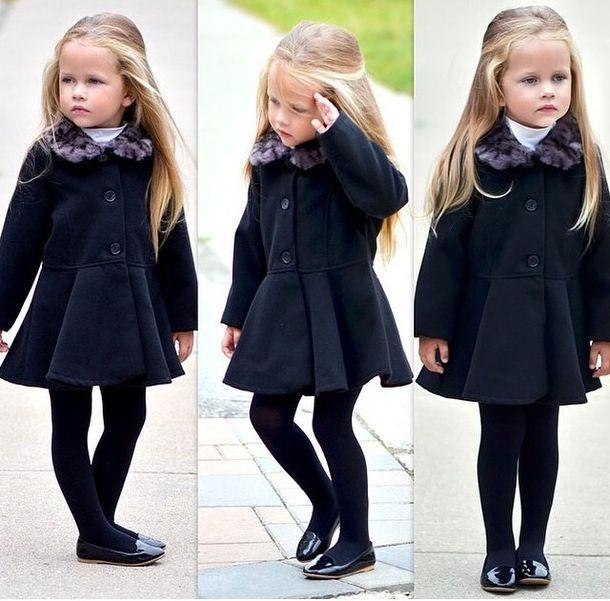 jacket girly kids fashion kids fashion toddler fall outfits faux fur