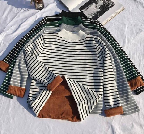 sweater girly sweatshirt jumper stripes