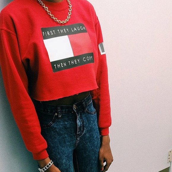 crop tops shirt sweater
