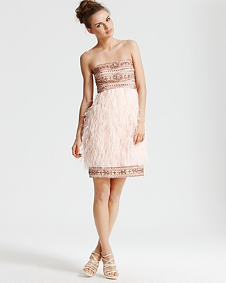 e7976c37e984 Sue Wong Strapless Ostrich Feather Dress - All Dresses - Bloomingdales.com