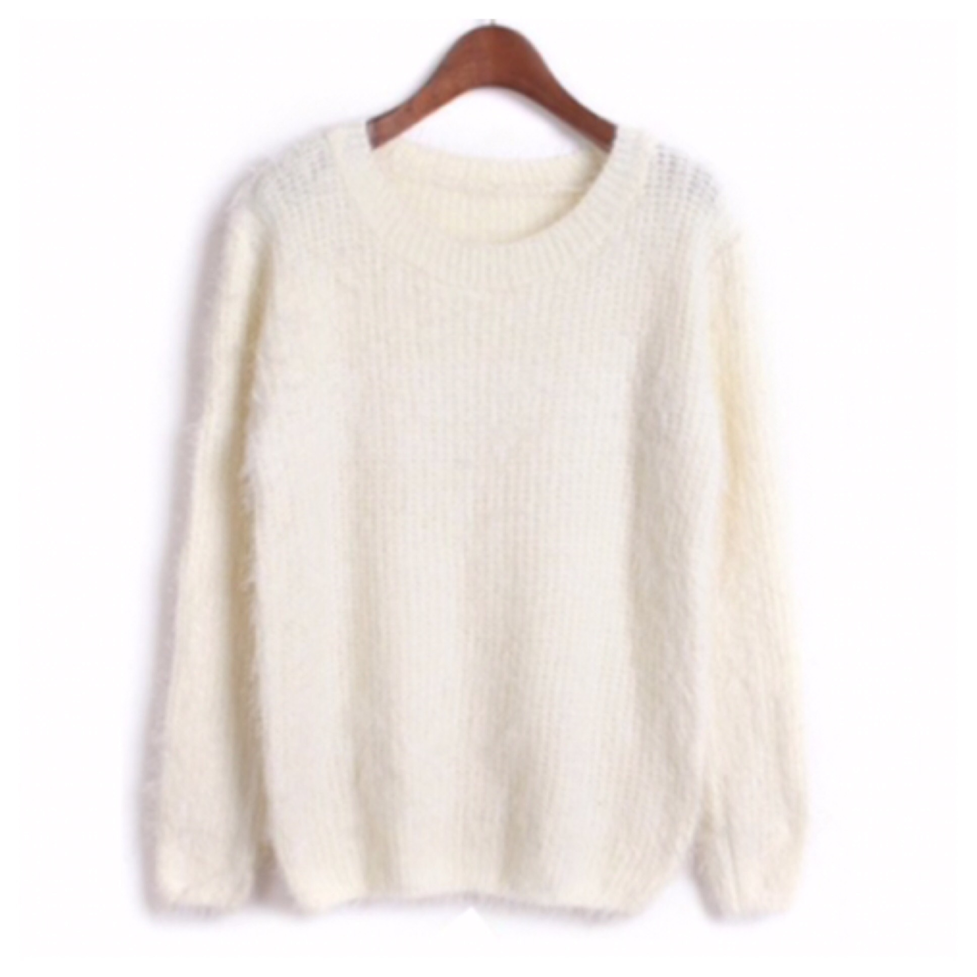Fuzzy mohair knit sweater from doublelw on storenvy