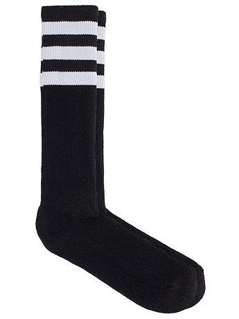 Stripe Knee-High Sock | American Apparel