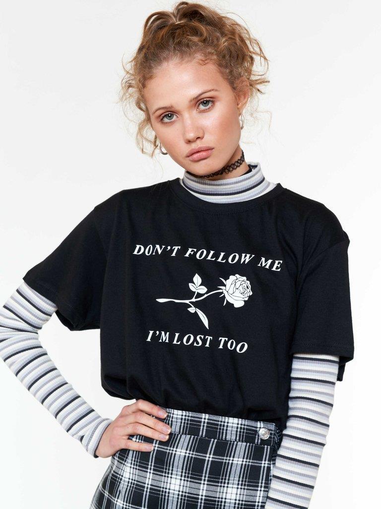 Don't Follow Me Oversized T-shirt