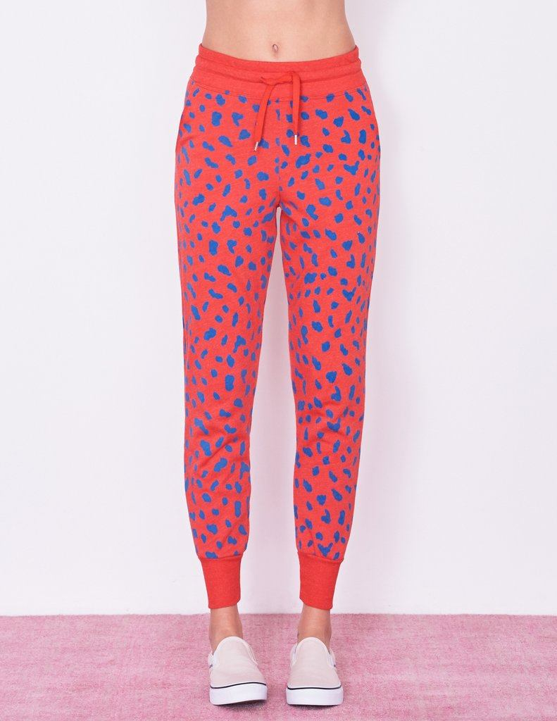 Sundry Abstract Dots Tapered Sweatpant