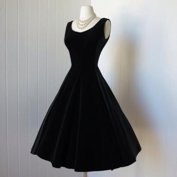 audrey hepburn dress little black dress velours prom dress little black dress