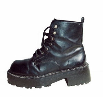 shoes military boots military platform shoes laced