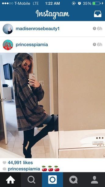 cardigan pia mia perez flannel shirt hoodie jacket blouse pia mia perez flannel fashion