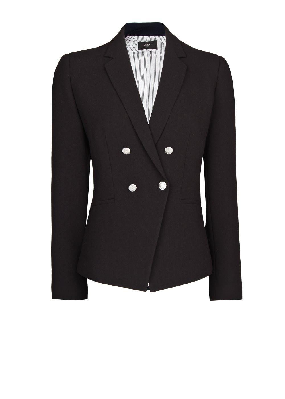 Double-breasted blazer -    Women - MANGO