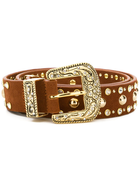 B-Low The Belt women classic belt suede brown