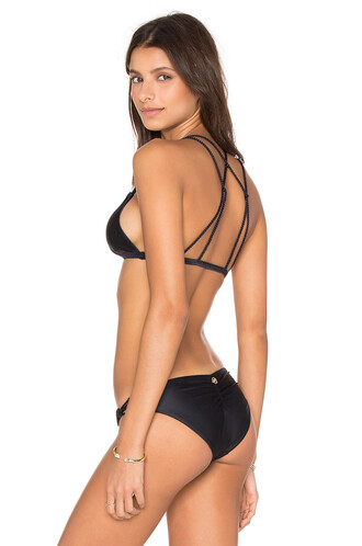 bikini bikini top braid black
