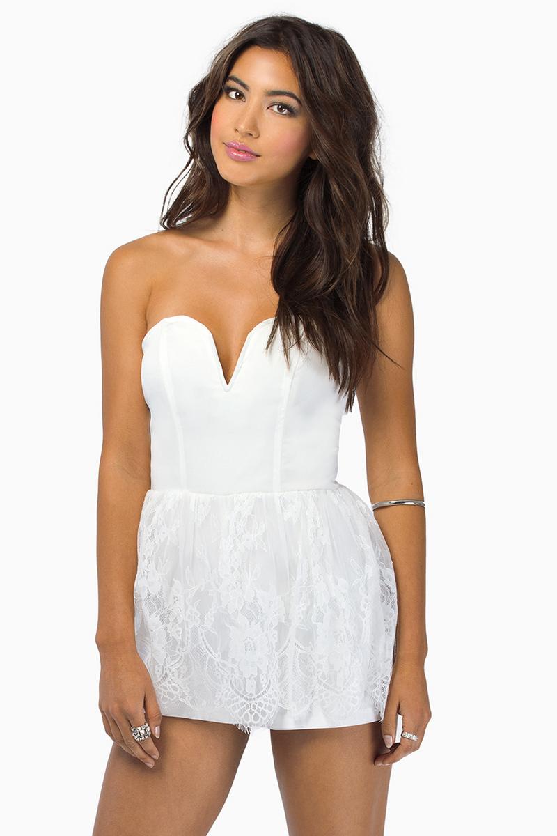 I Heart Lace Romper $68