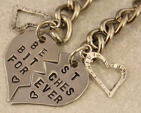 Best Bitches Forever Keychain  BFF Gift  Best by TwentySix7