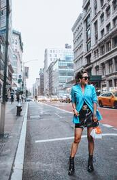 gracefullee made,blogger,jacket,jewels,shoes,bag,skirt,belt,sunglasses