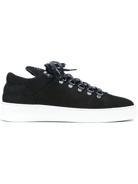 Filling Pieces women sneakers leather black shoes