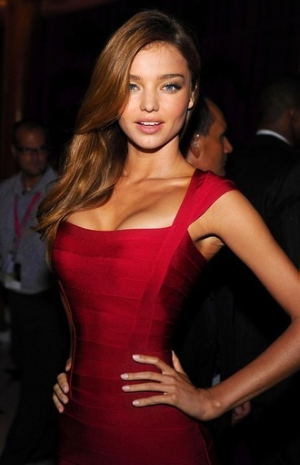 dress model miranda kerr red dress celebrity