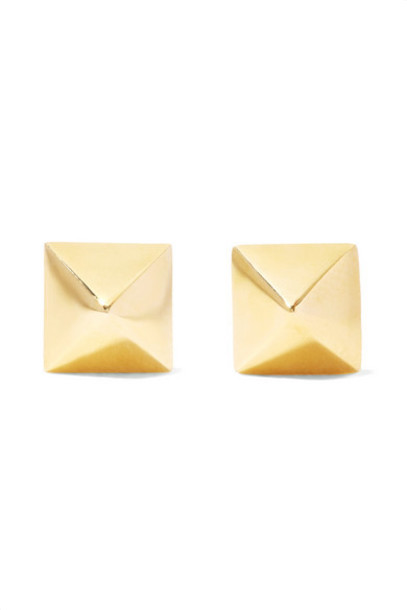 Anita Ko - Spike 14-karat Gold Earrings