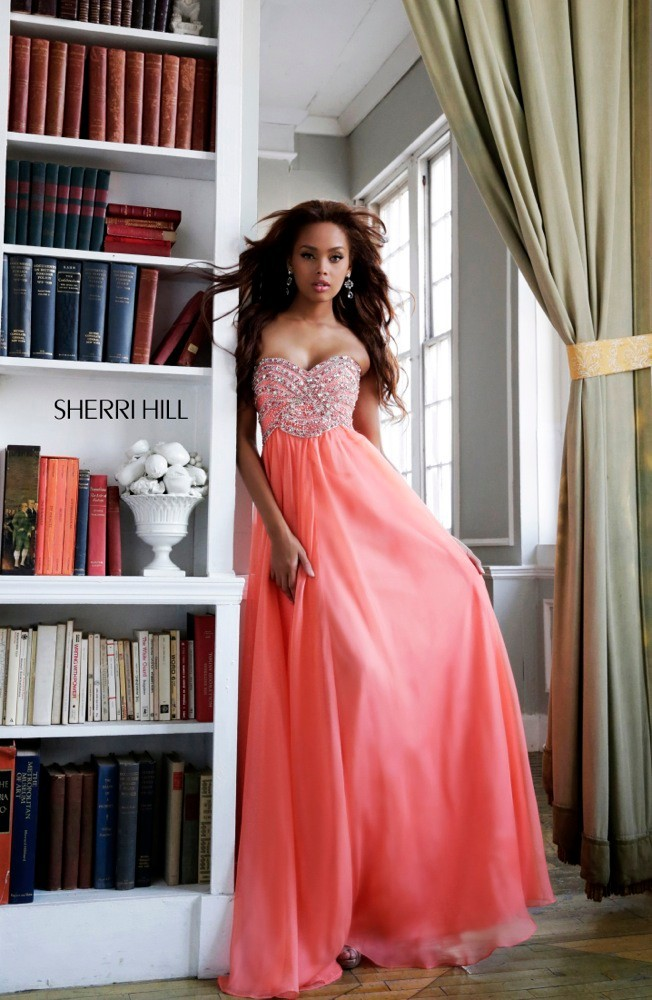 Sparkly Sweetheart Beaded Crystal Prom Dresses Long Open Back Girl's Evening Party Gowns 2014 vestidos de novia-in Prom Dresses from Apparel & Accessories on Aliexpress.com