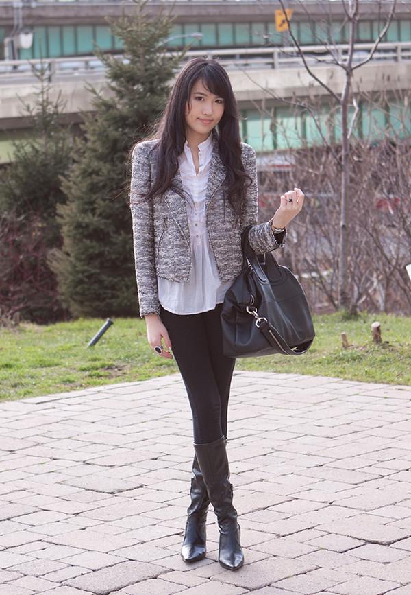 Jacket Zara Zara Biker Jacket Boucle Jacket Shiny Jacket Zara Jacket Metallic Jacket Grey