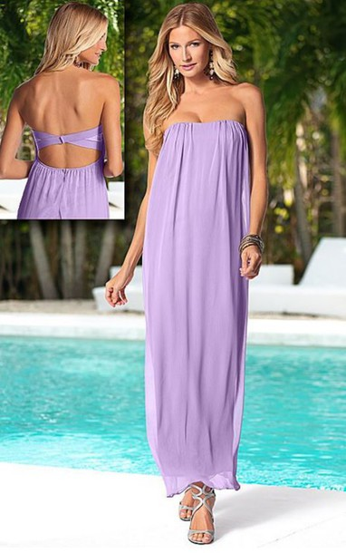 e15e51cf73 dress boho dress flowy light purple classy prom