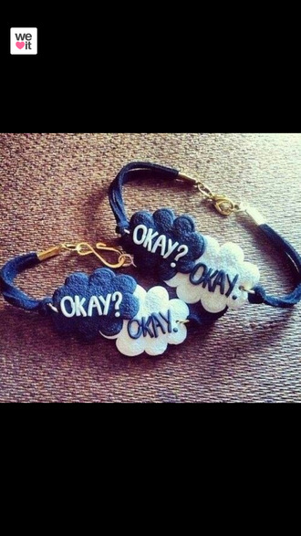 jewels the fault in our stars bracelets hazel grace augustus waters