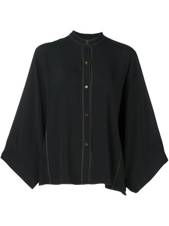 shirt black top