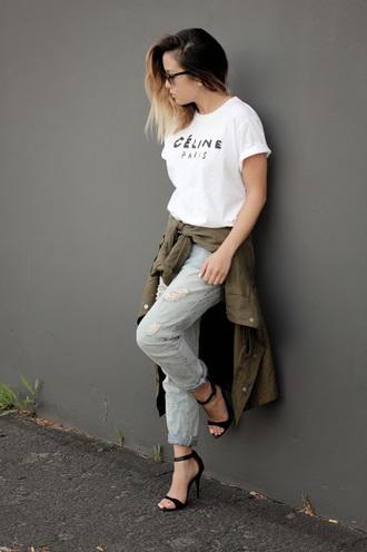marilyn noir blogger jacket jeans