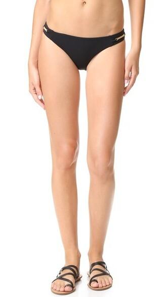 bikini bikini bottoms sun classic black swimwear